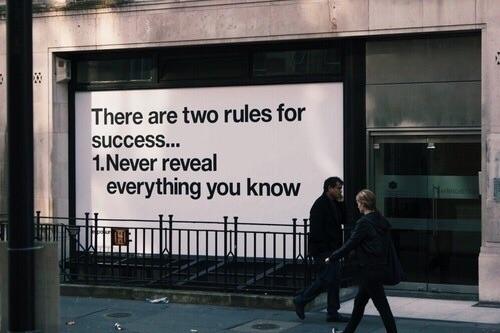 2 rules - donttalkaboutit - heathgrout | ello