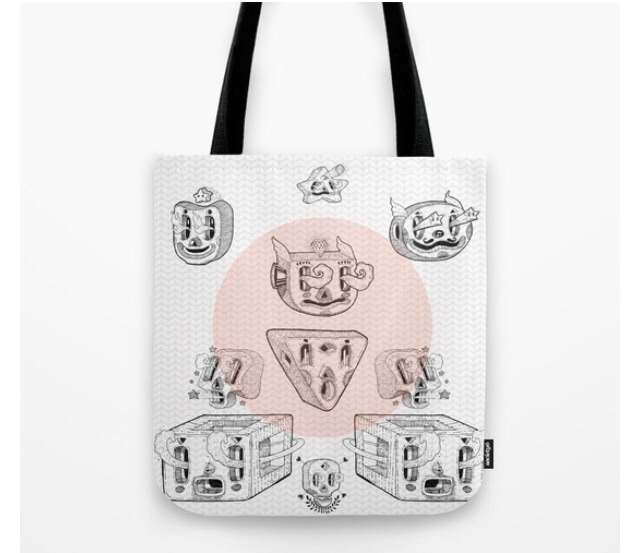 Planta geo 2 Tote bag sale - drawing - trinkl | ello