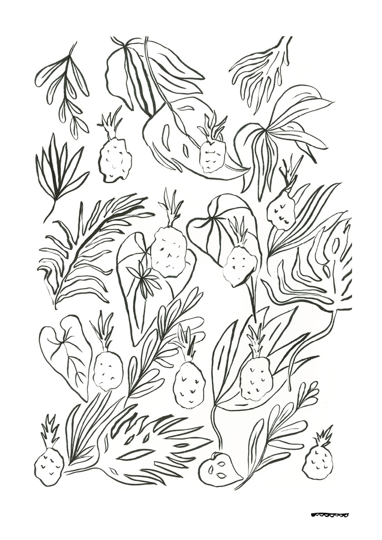 illustration, graphic, homedecor - floriane-9695 | ello