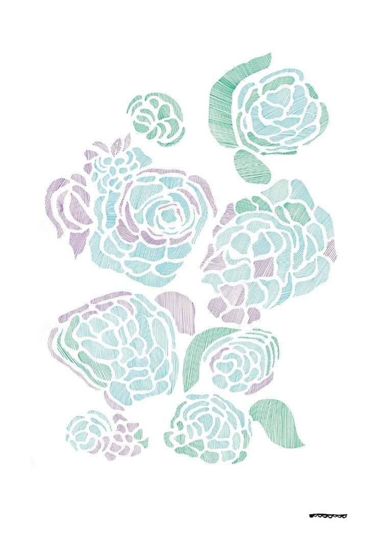 graphicdesign, print, artforsale - floriane-9695 | ello