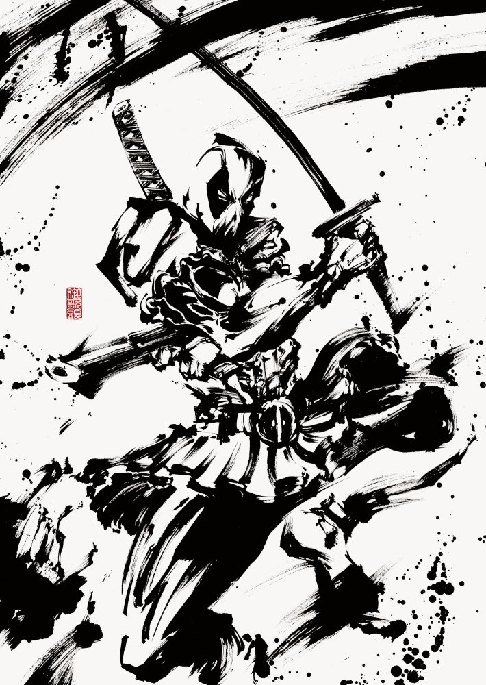 Deadpool, FanArt - shingos | ello