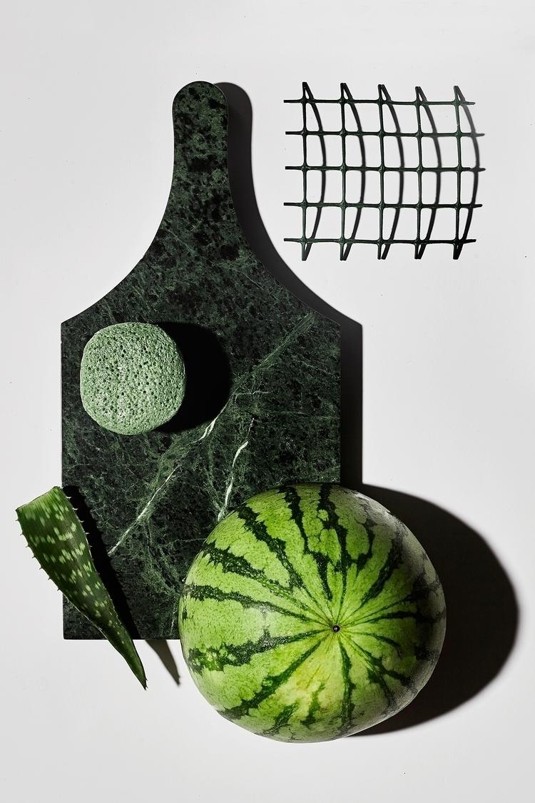 Green. Collaboration Georgia Cr - cydneycosette | ello