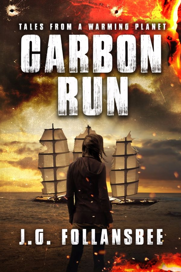 folks, cover art Carbon Run. se - jgfollansbee | ello
