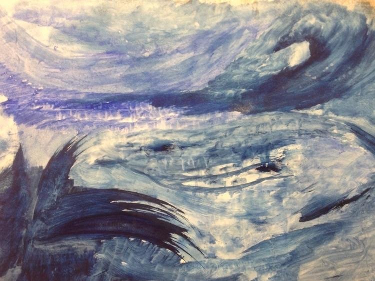 flow - art, acrylic - thinker | ello