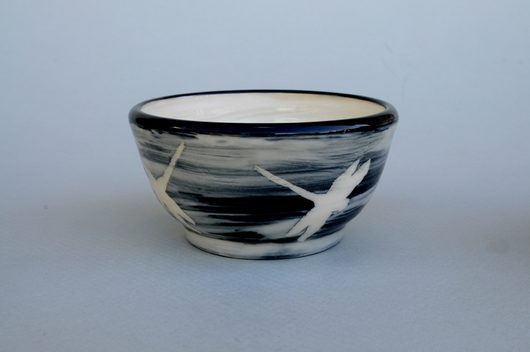 Stoneware Bowl: Oxidation cone  - mhedges | ello