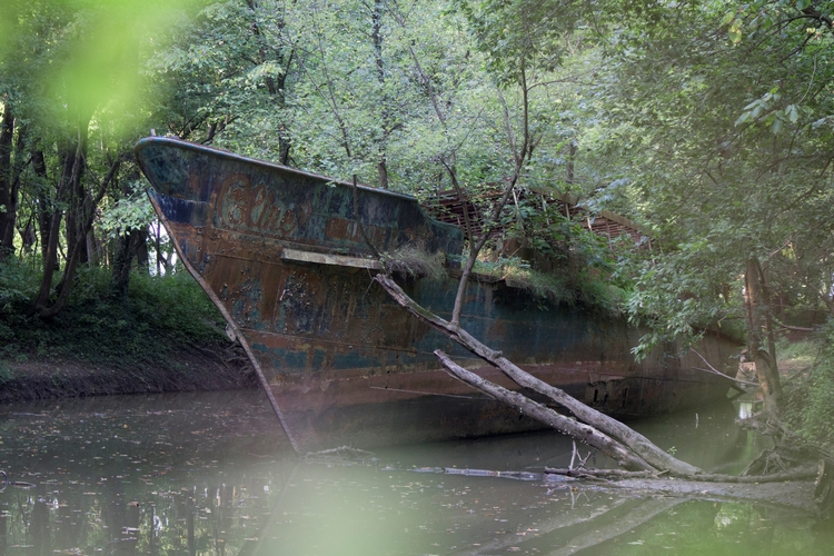 abandoned, ghost, ship, photography - dead_splicer | ello