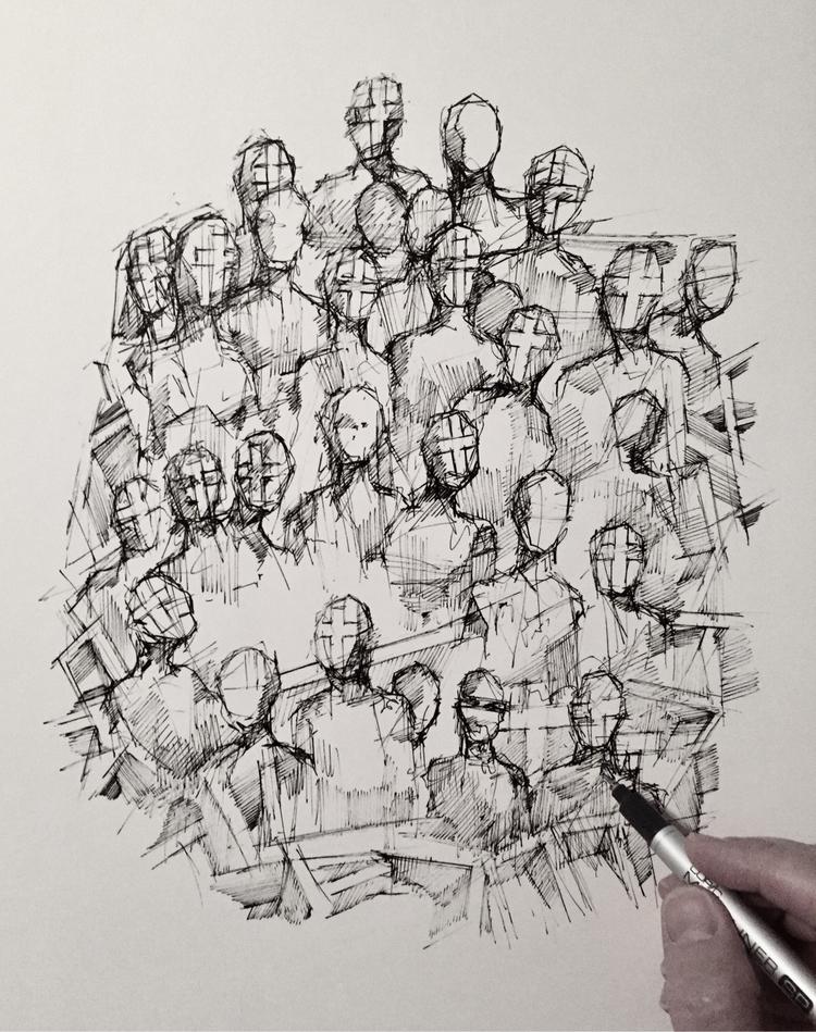 Late night sketch - art, artwork - brianjohnsonart   ello