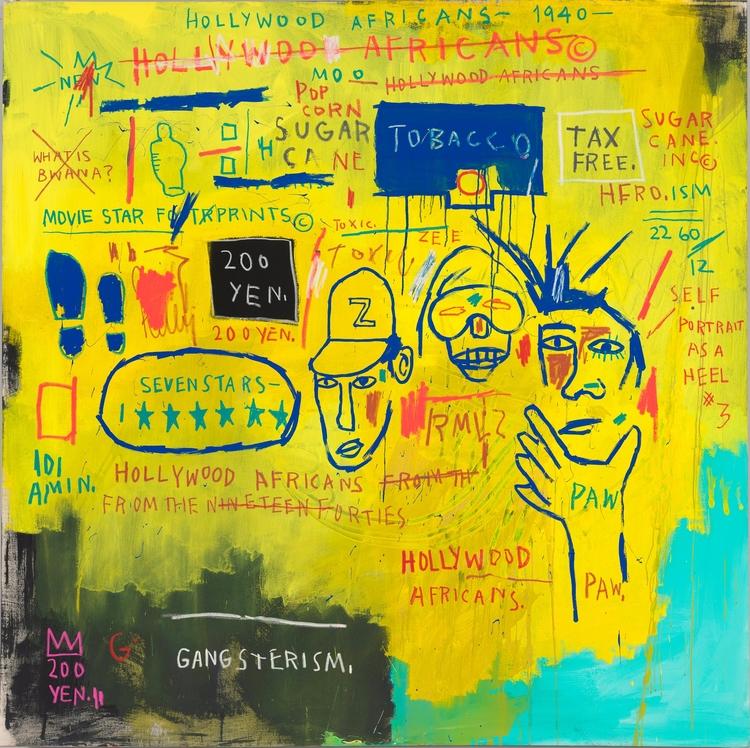 Jean-Michel Basquiat knew  - art - valosalo | ello