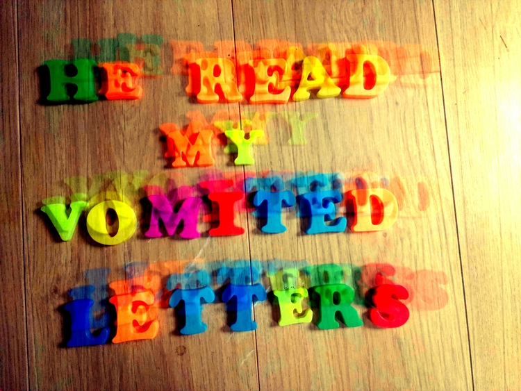 READ VOMITED LETTERS - artphotography - johnhopper | ello