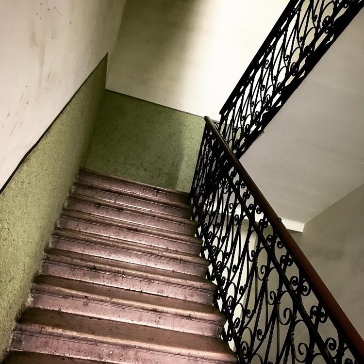 Budapest, stairwell - carolinegreg | ello