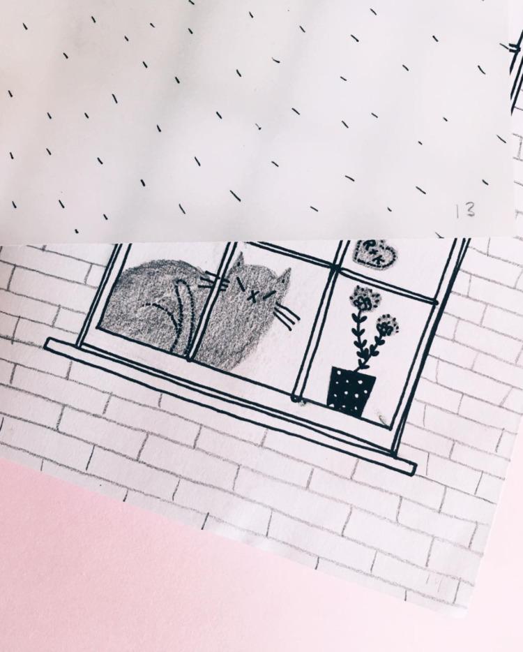 working zine shop <3 - illustration - rachelkatstaller | ello
