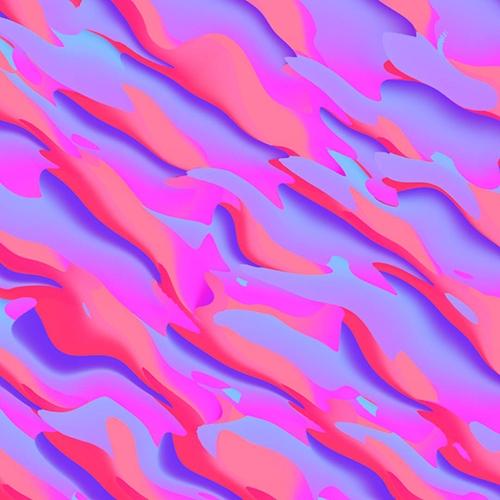 graphics, pattern, colours, waves - rosieroche | ello