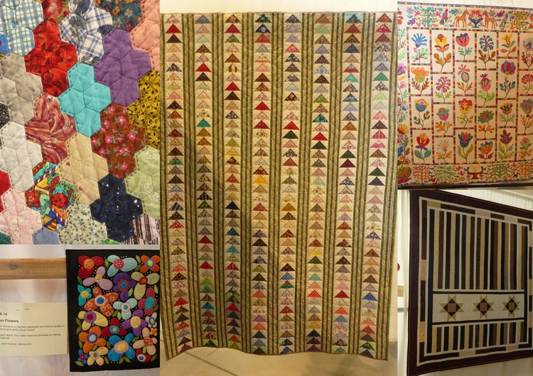 beautiful quilts Great Northern - firehorsetextiles | ello