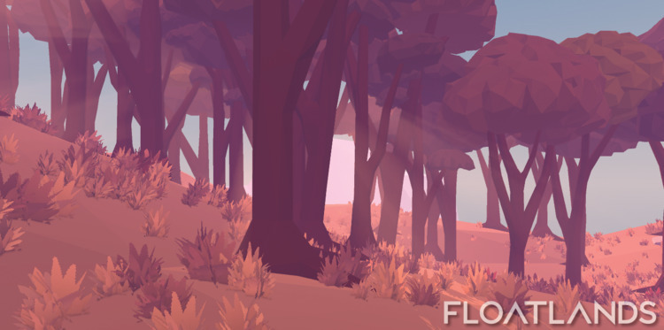trees bigger - 3D, gaming, design - floatlands | ello