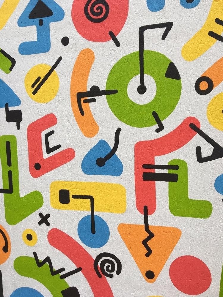progress mural (6'x11 - fineart - benjaminnelson | ello