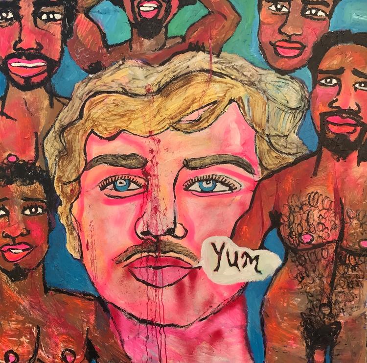 Jeffrey Dahmer 60x60in - wayneello1 | ello