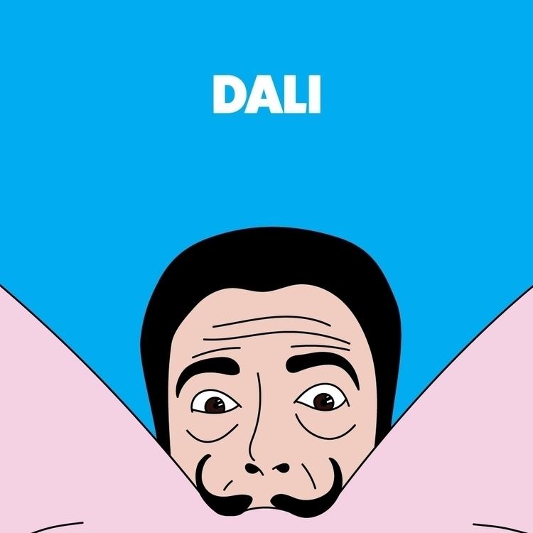 mustaches / salvador dali - eroticart - goker | ello