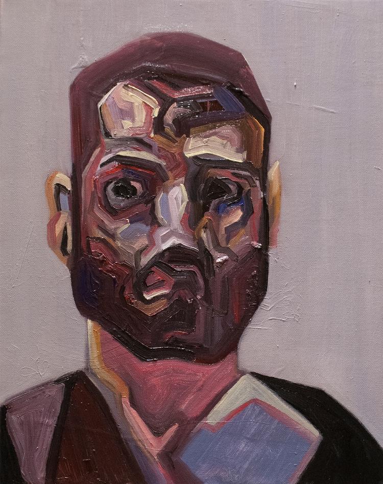 Leak Portrait) / Oil Canvas 41  - armandocabba | ello