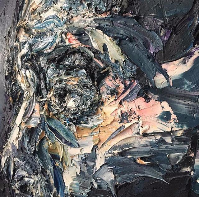 Detail 'Tomorrow'. Oil Canvas - art - alahendra | ello
