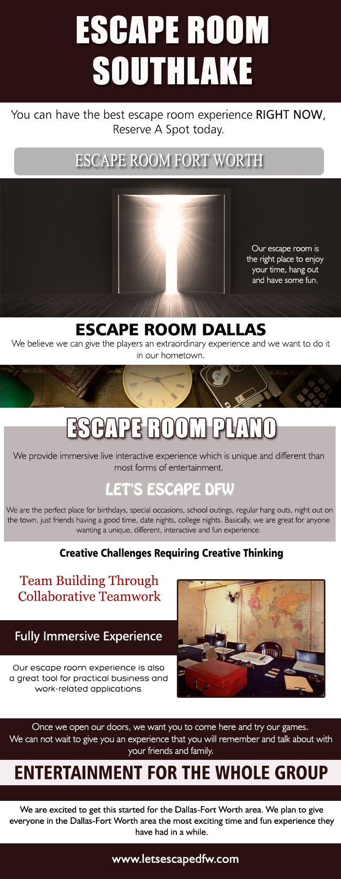 Escape Room Dallas Site games w - escapegames | ello