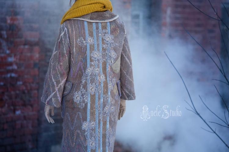 coat, alpaca, wool, newzeland - anelestudio | ello