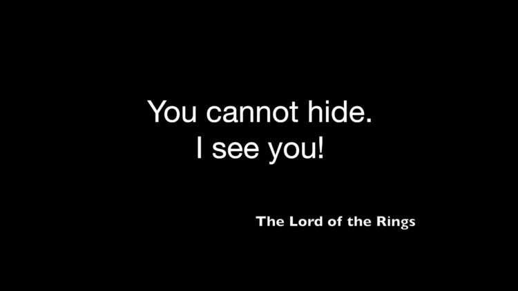 Lord Rings, quote. design artwo - moviemania   ello