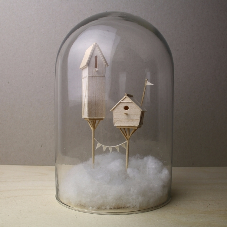 Story Objects, miniature sculpt - veravanwolferen | ello