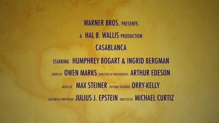 Casablanca, cast. design artwor - moviemania   ello