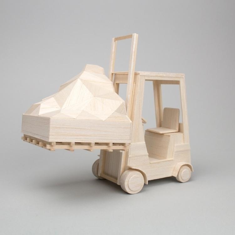 Mountain Piece, miniature sculp - veravanwolferen | ello