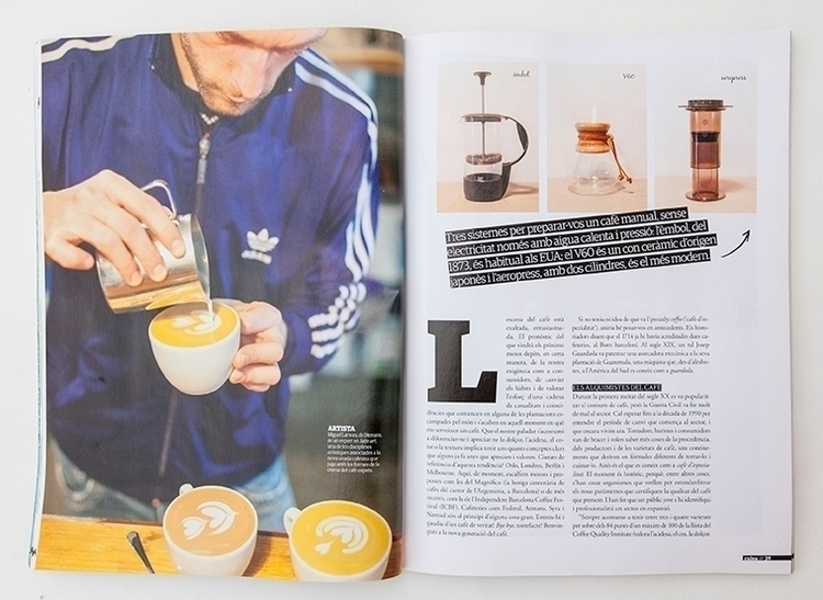 Coffee article cuina.cat magazi - mikewater | ello
