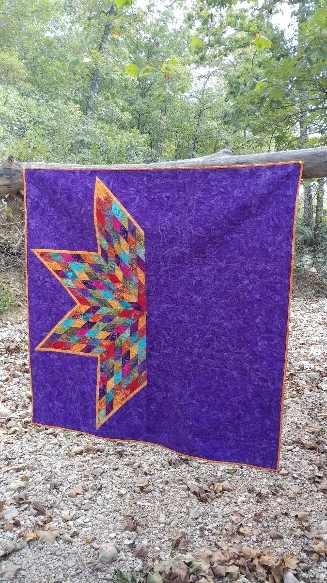 modern lone star quilt ghost qu - sliceofpiquilts | ello