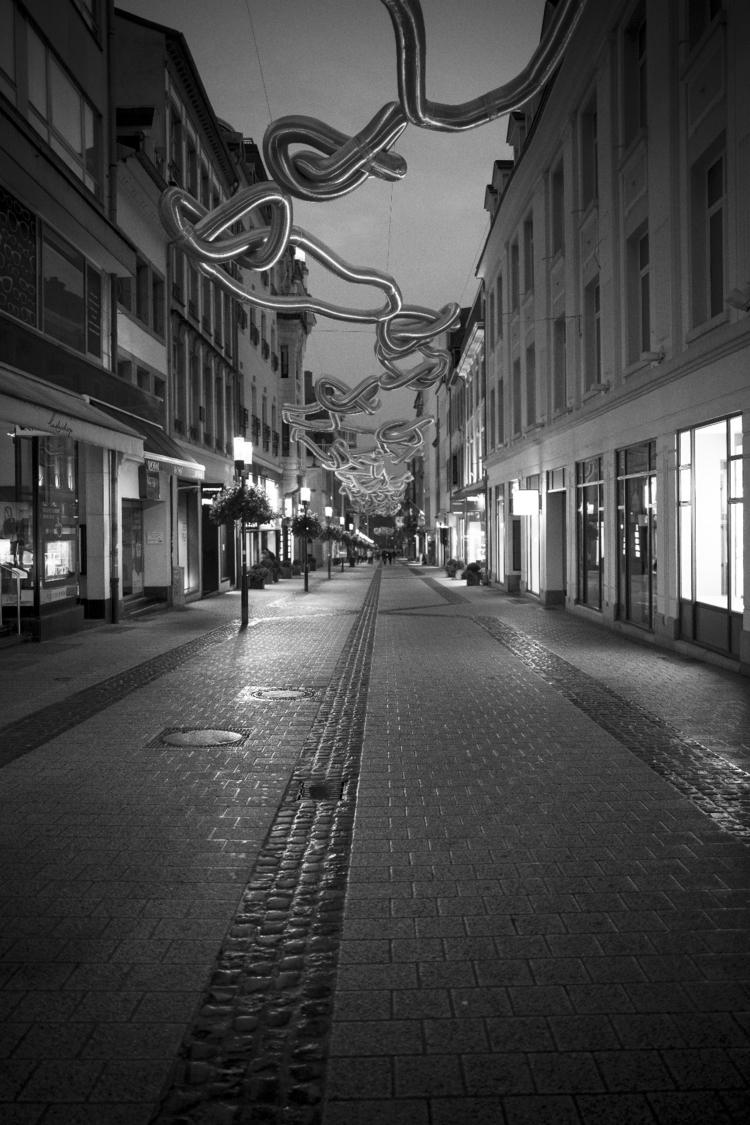 Streets Luxembourg City night - luxembourgcity - cdelas | ello