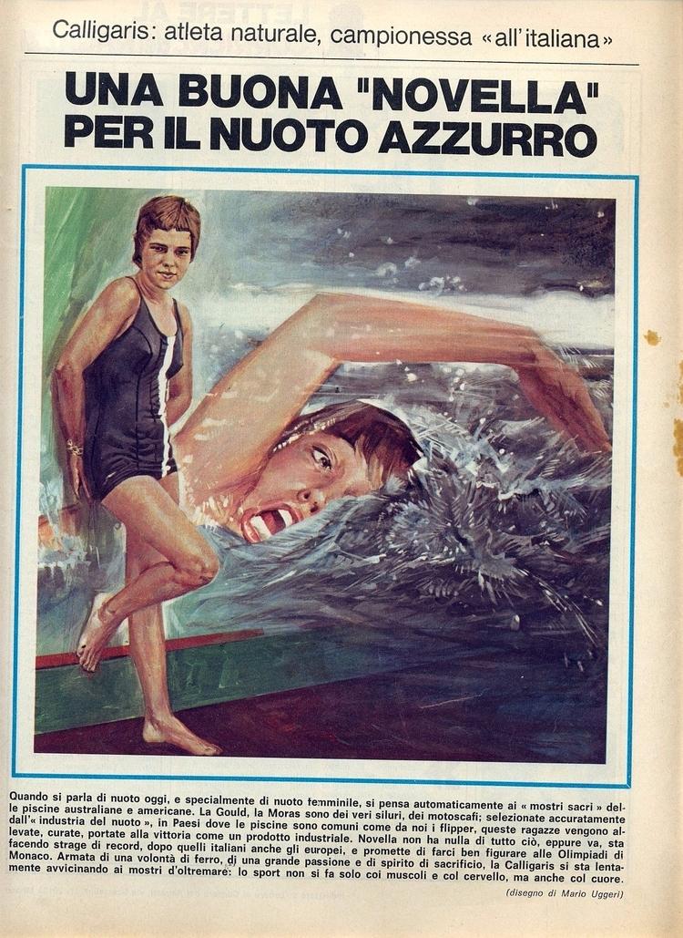 [Una buona novella il nuoto (di - corrierino | ello