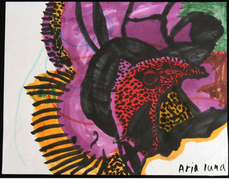 Wild turkey, Copic markers pape - arialuna   ello