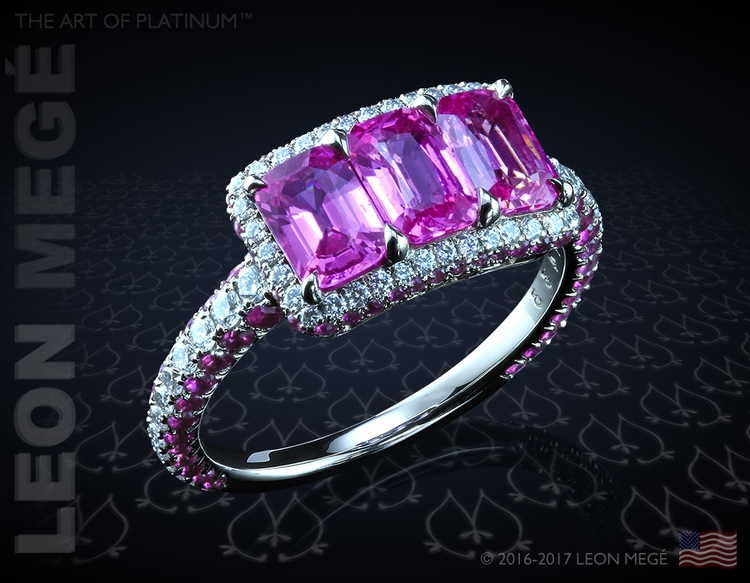 micro pave halo ring Leonmege - beautiful - leonemege | ello