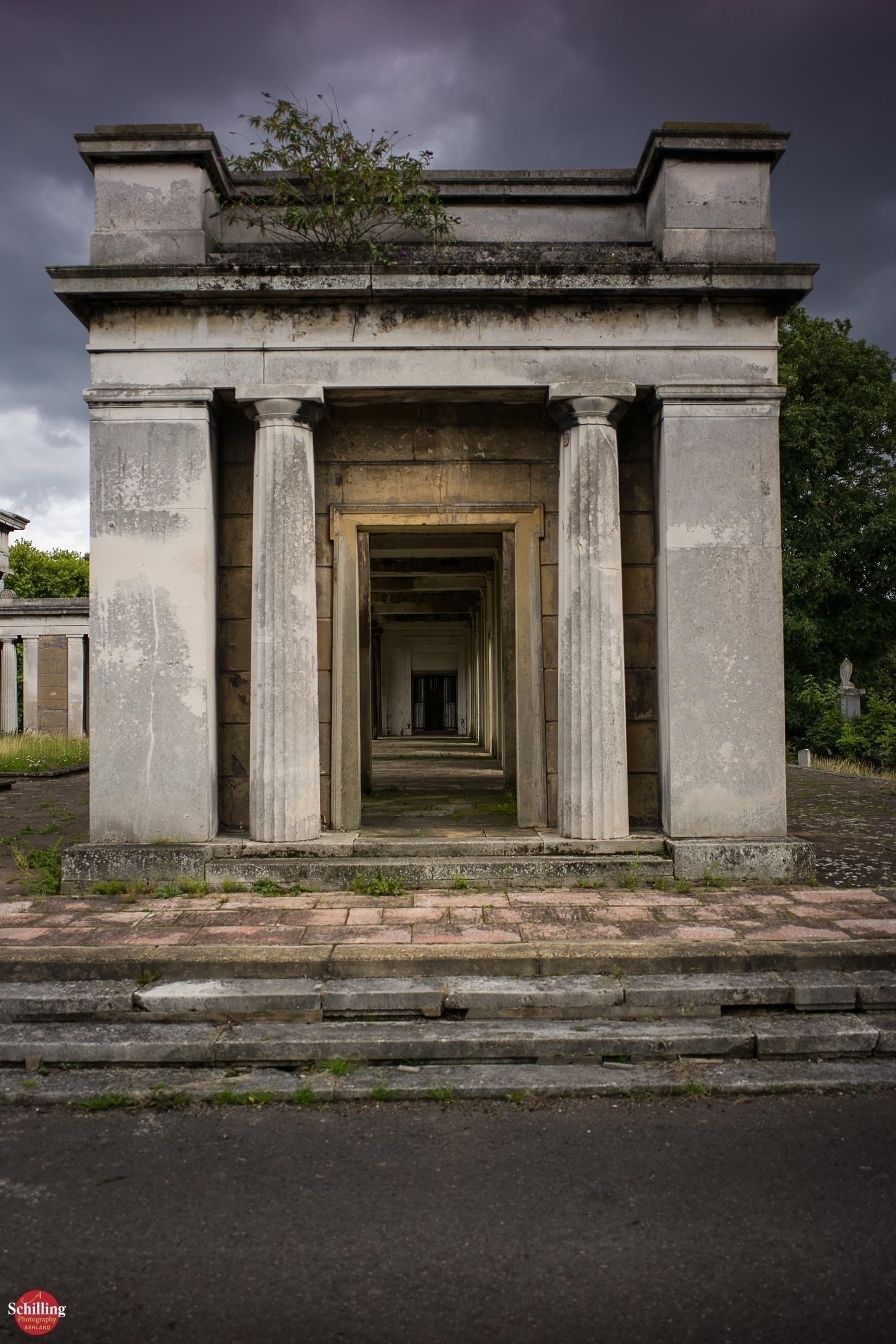 Catacomb Collonade; Kensal Gree - augustschilling | ello