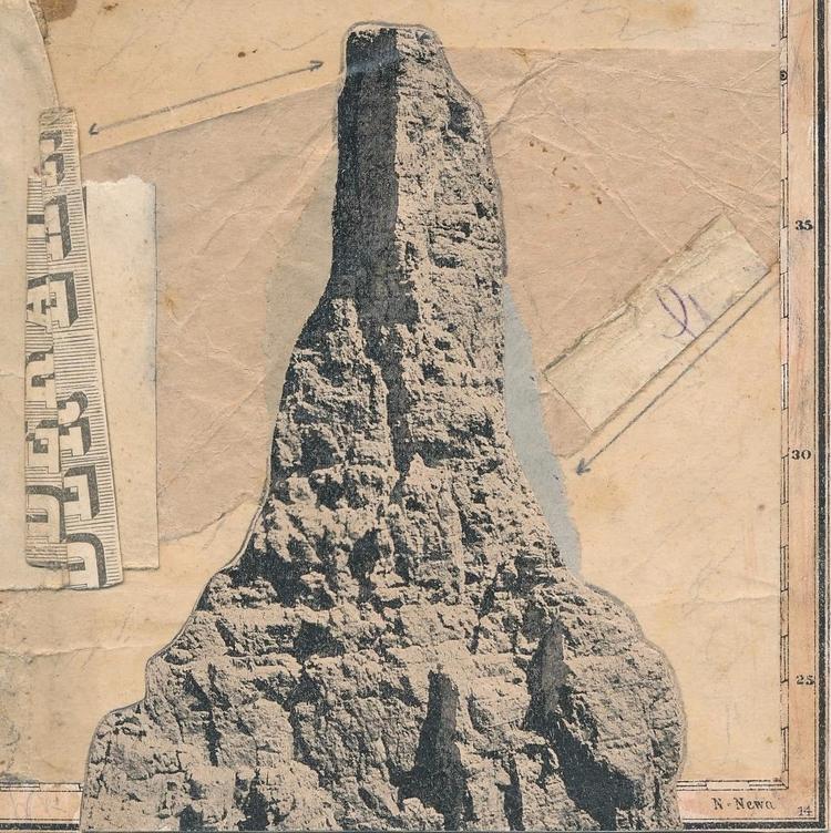 mountain cutpaste/2017 - abstrakt - papiergedanken   ello