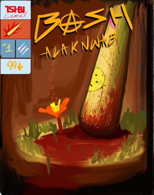 cover comic BASH ACAKNWAB killi - tsi-bi   ello