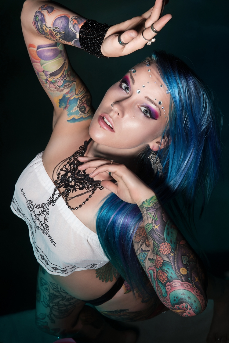 photography, tattoo, model - darcydelia | ello