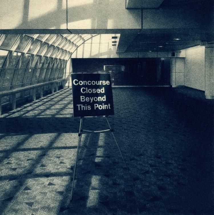airport, cyanotype, Iphoneography - graymatterimages | ello