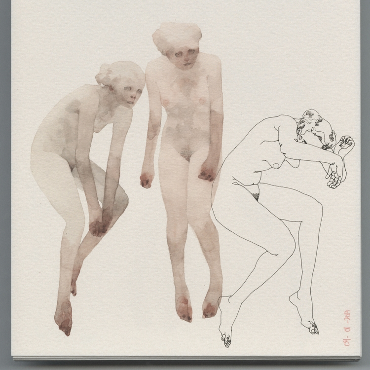 beautiful ashamed - figuredrawing - lucong | ello
