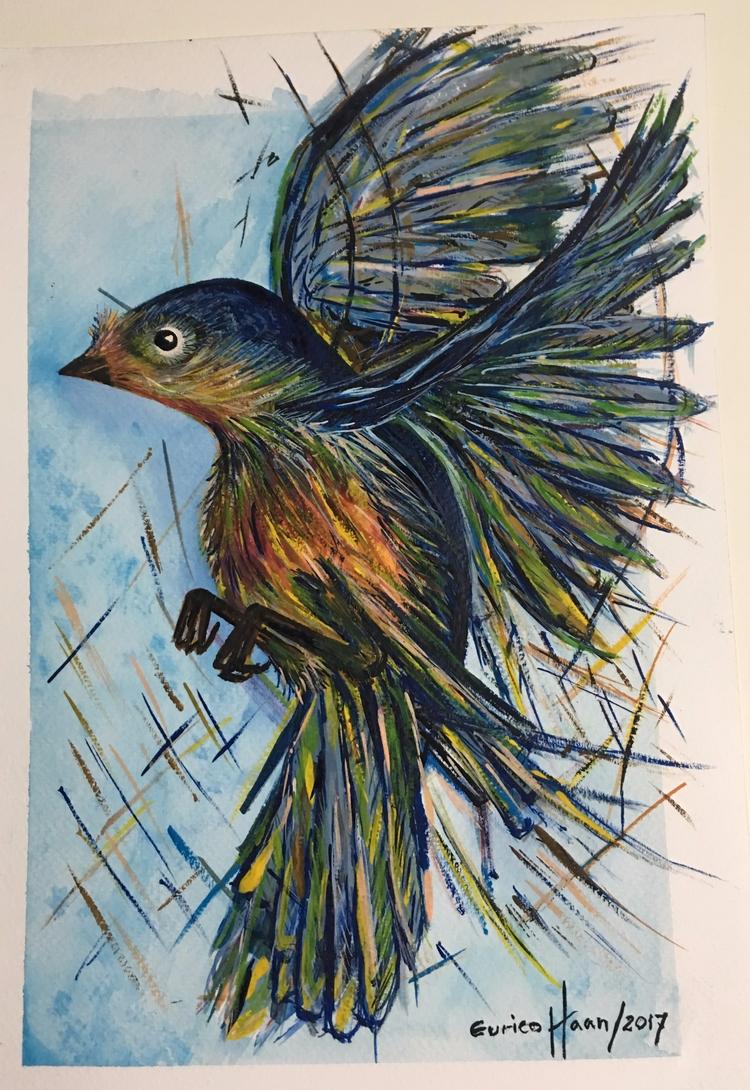 Title: OPUS NR 062 – Blue Bird - eurico_haan | ello