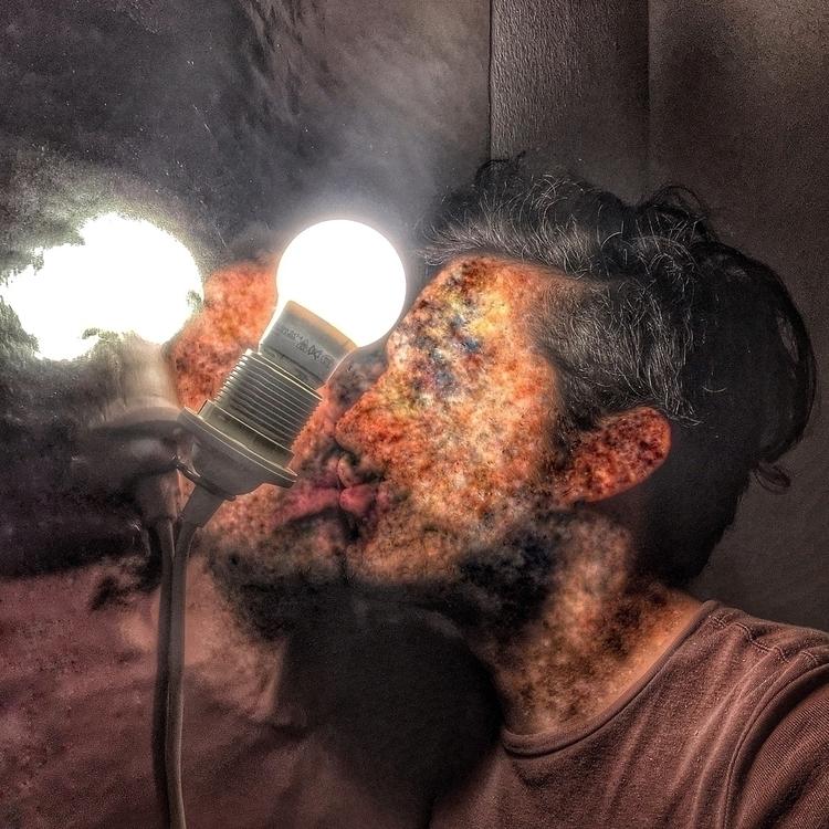 healed, distortion, selfie, mirror - stefanodalessio | ello