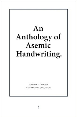 Anthology Asemic Handwriting bo - asemicwriter | ello