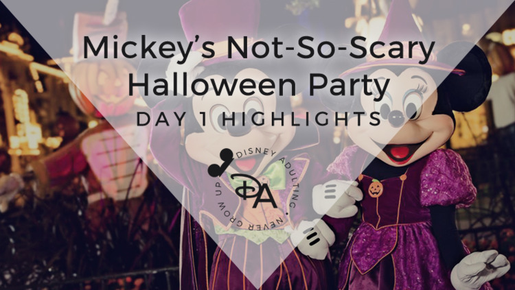 Scary Halloween Party launched  - disneyadulting | ello