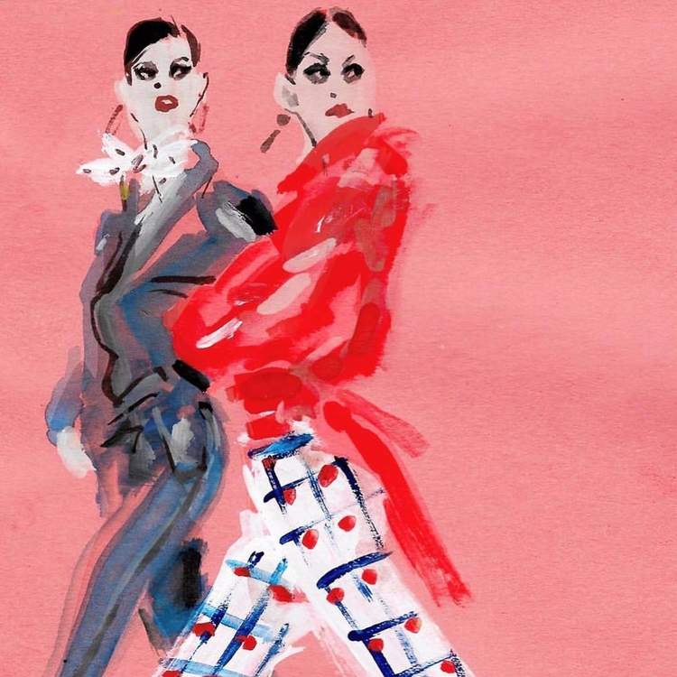 York Fashion Week Illustration  - trafficinc | ello