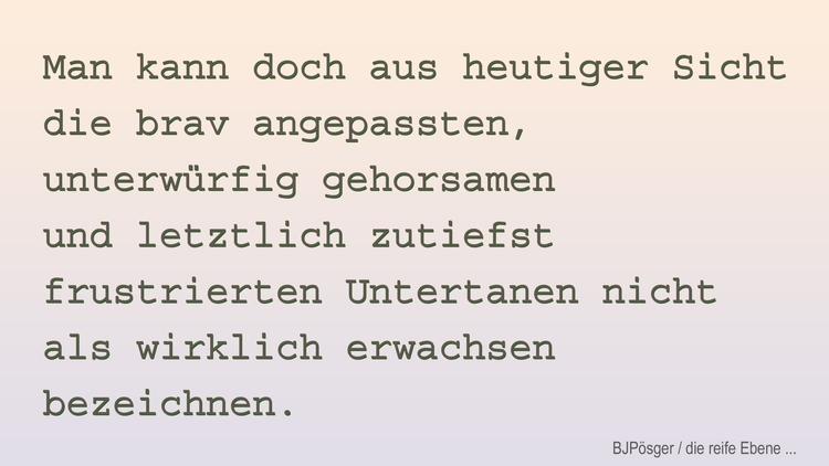 02 - menschliche_Reife - bringfried | ello