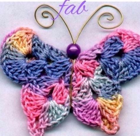 hope pattern crochet, butterfli - carlabreda   ello