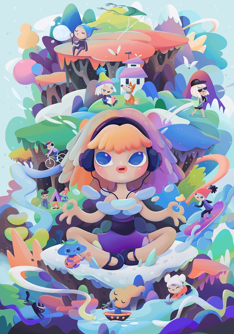 powerpufftheworld.com Commissio - zuttoworld | ello