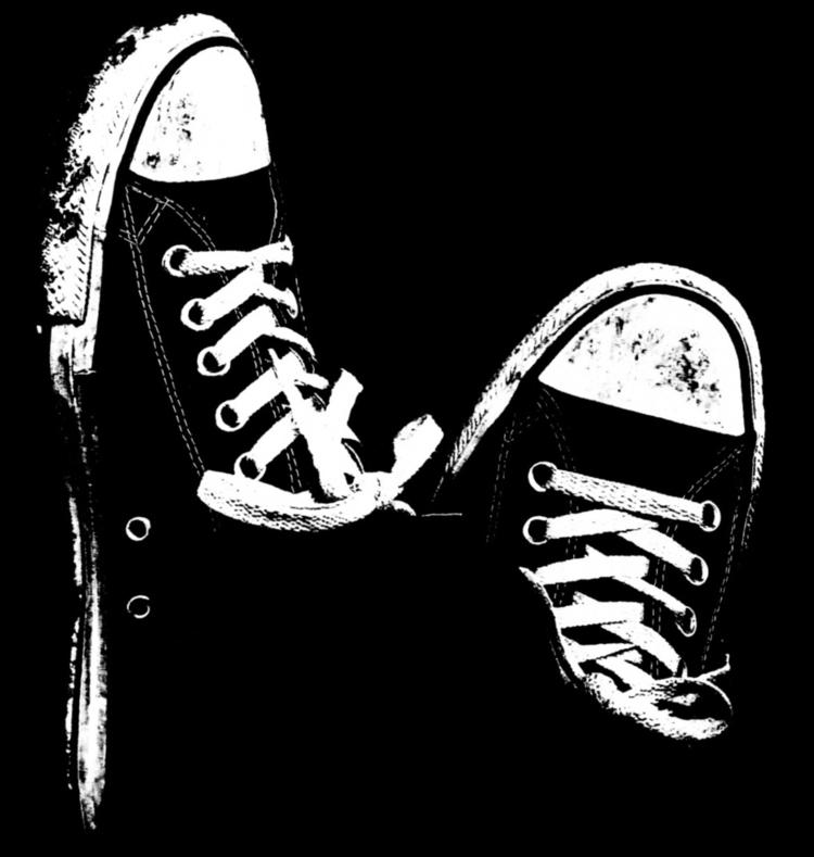 relaxing, blackwhite, shoes, nike - gleren | ello